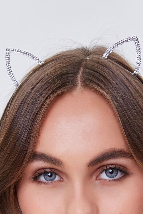 Rhinestone Cat Ear Headband, image 2