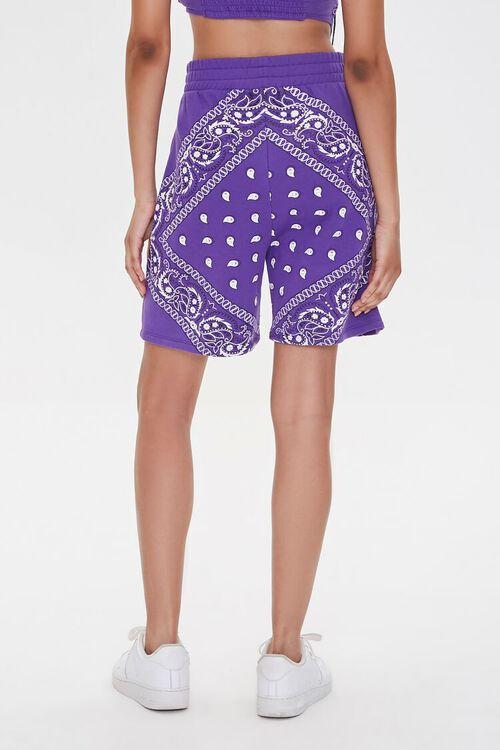Ashley Walker Bandana Print Shorts, image 4