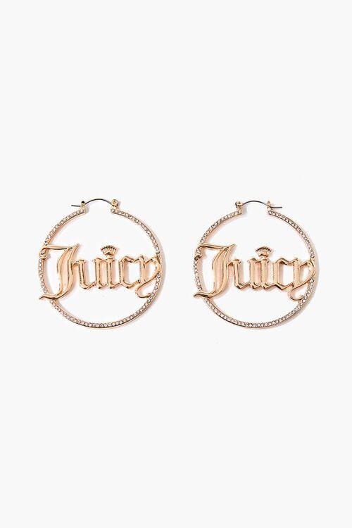 Juicy Couture Rhinestone Hoops, image 1
