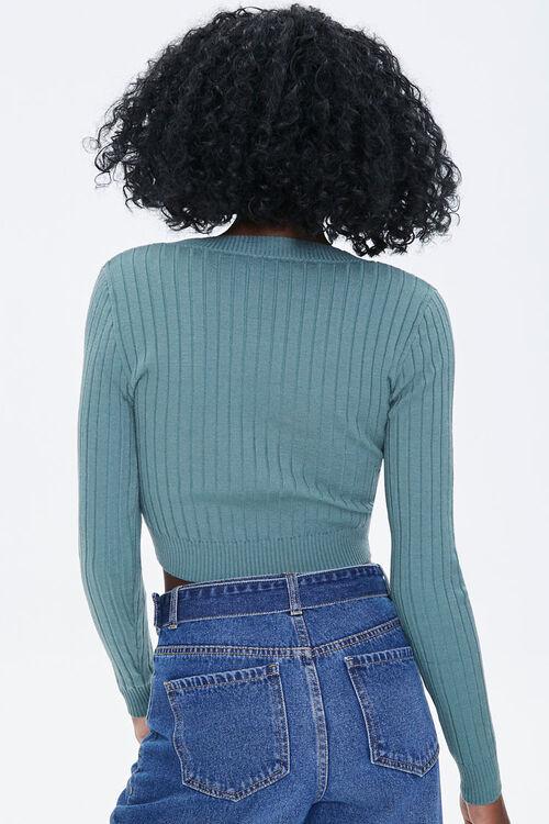 SAGE Sweater-Knit Crop Top, image 3