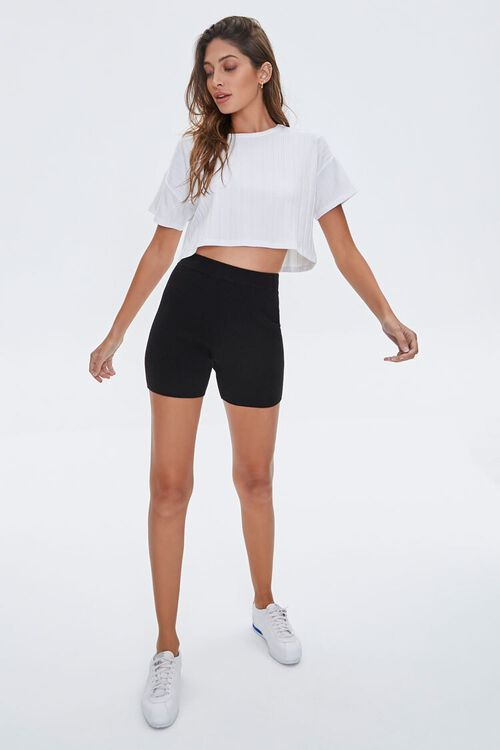 Wide-Rib Cropped Tee, image 4