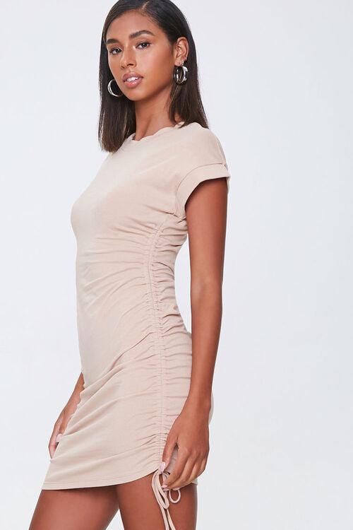 Drawstring T-Shirt Dress, image 2