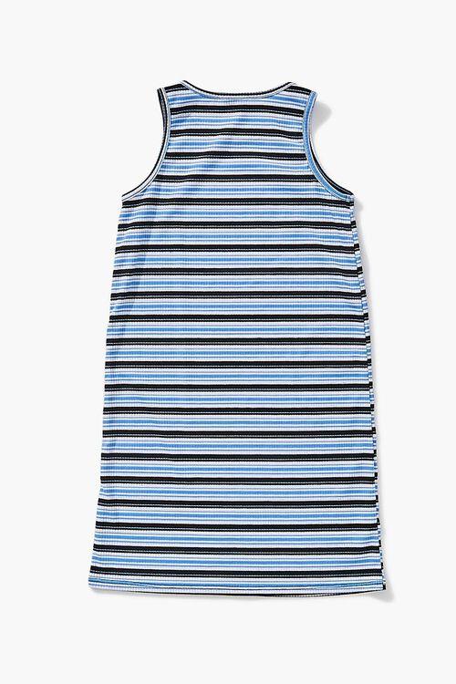 BLUE/MULTI Girls Striped Tank Dress (Kids), image 2