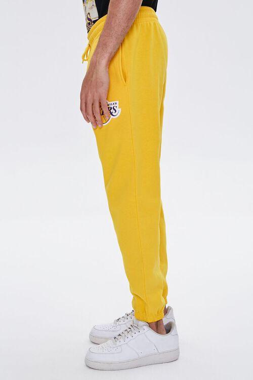 YELLOW/PURPLE Lakers Graphic Fleece Joggers, image 4