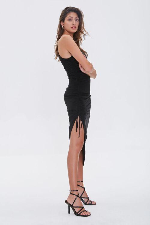 Ruched Drawstring Cami Dress, image 3