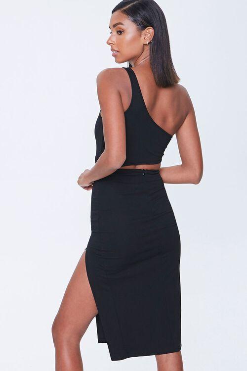 Cutout One-Shoulder Dress, image 3