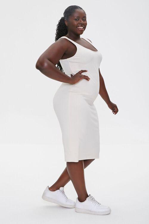 Plus Size Ribbed Tank Dress, image 2