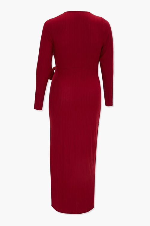 Plus Size Maxi Wrap Dress, image 3