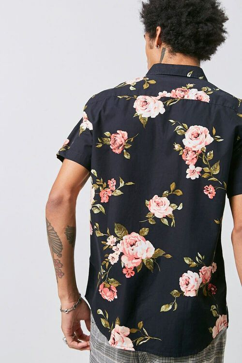 Classic Fit Floral Print Shirt, image 3