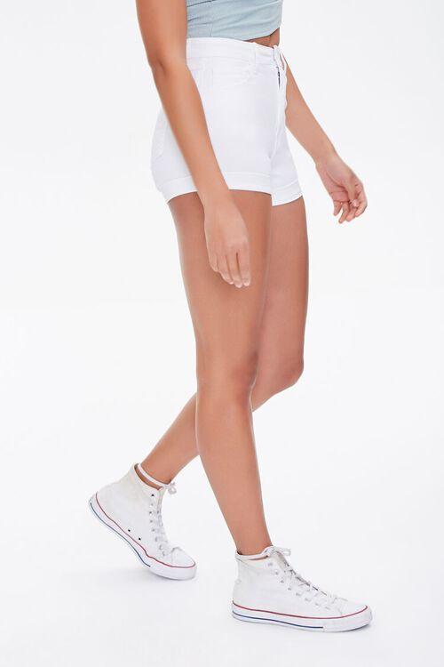 Curvy Denim Shorts, image 3