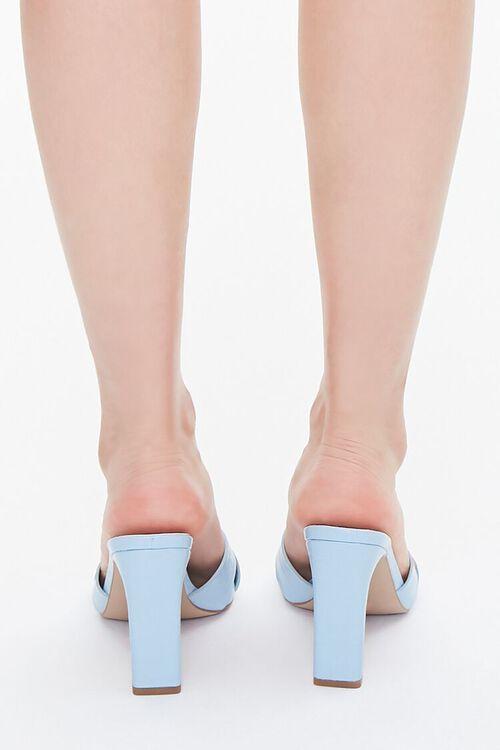 Crisscross Square-Toe Heels, image 3
