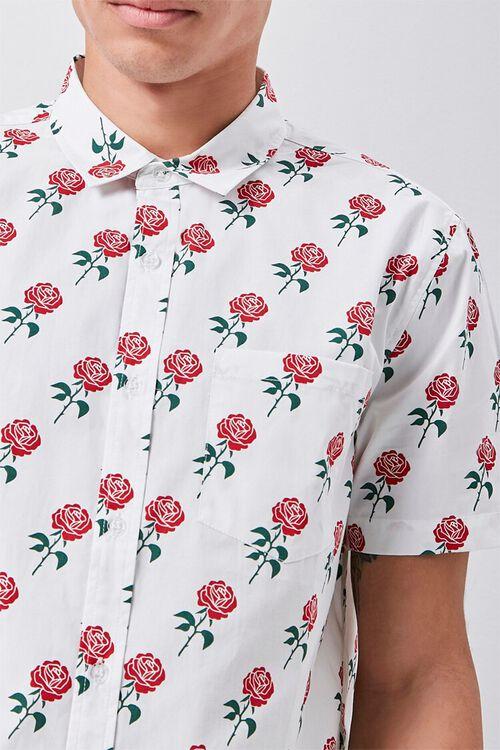 Rose Print Pocket Shirt, image 5