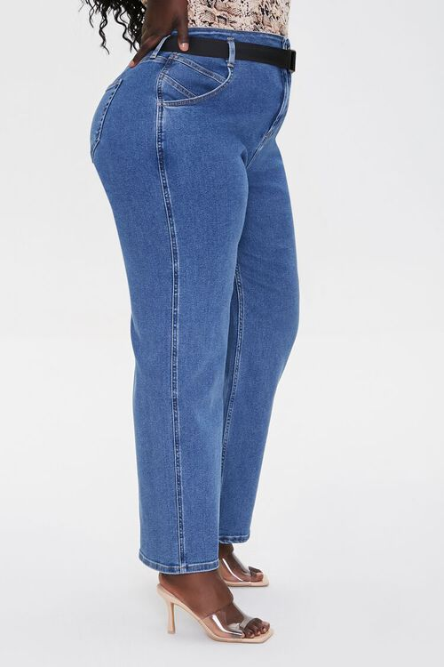 Plus Size High-Rise Straight Jeans, image 3