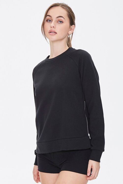 Active French Terry Pullover, image 1