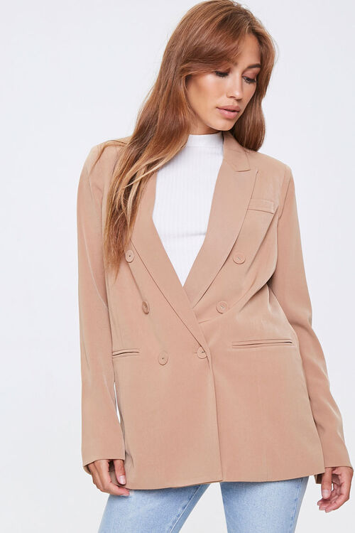 Double-Breasted Blazer, image 1