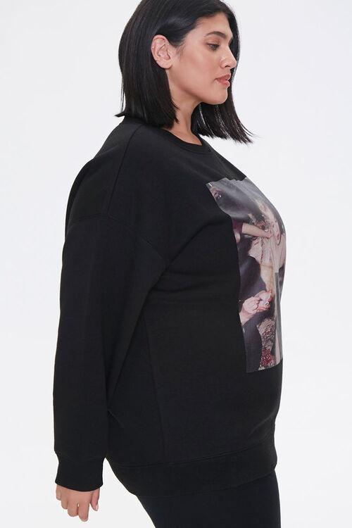 Plus Size Marilyn Monroe Sweatshirt, image 2