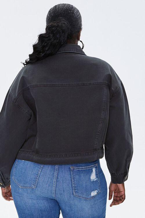 Plus Size Twill Jacket, image 3