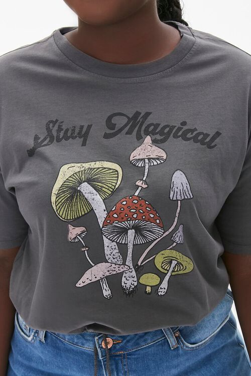 Plus Size Stay Magical Cropped Tee, image 5