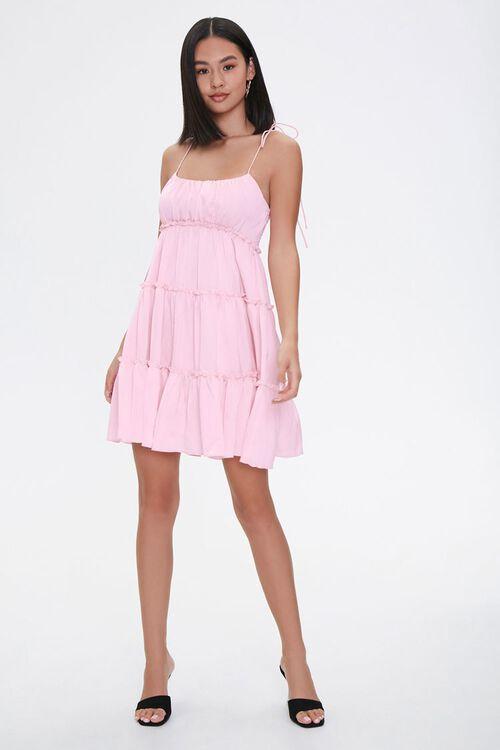 Tiered Mini Cami Dress, image 4