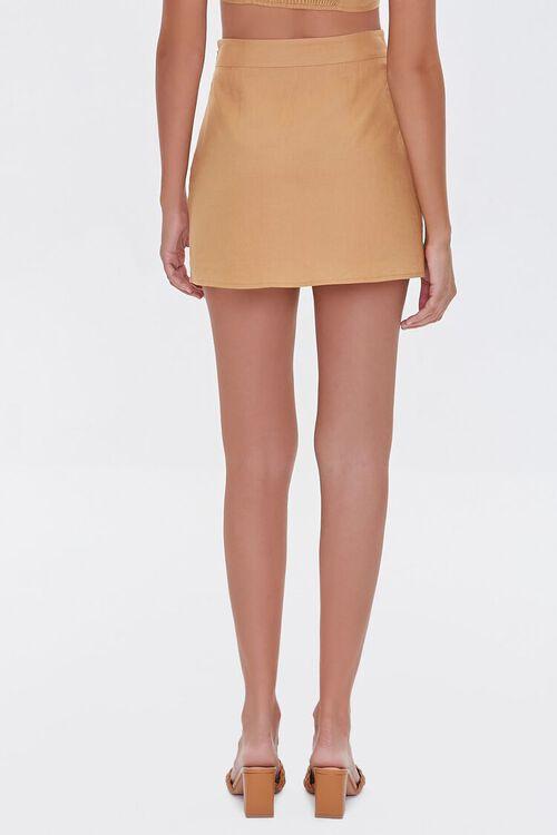 Linen-Blend Skirt, image 4