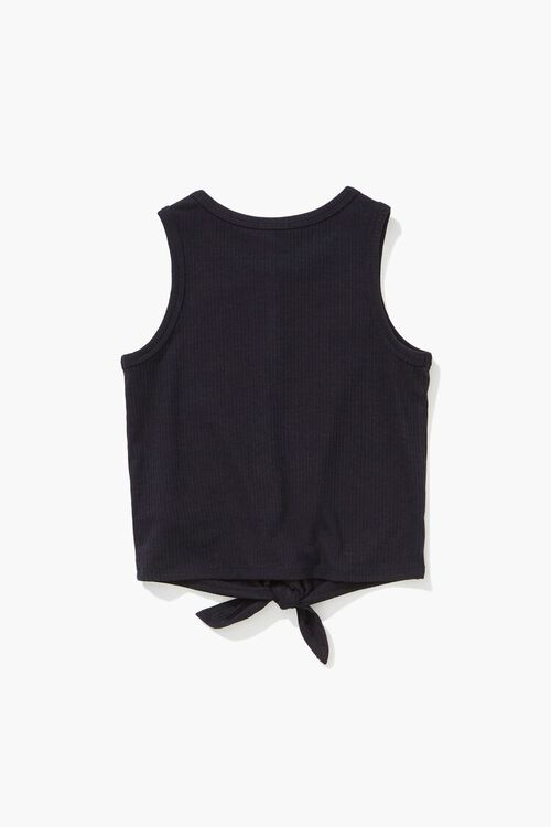Girls Knotted Self-Tie Top (Kids), image 2