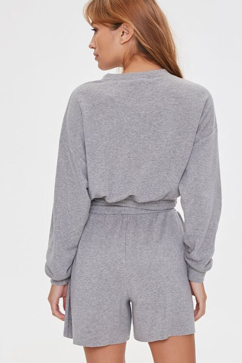 French Terry Pullover & Shorts Set, image 3
