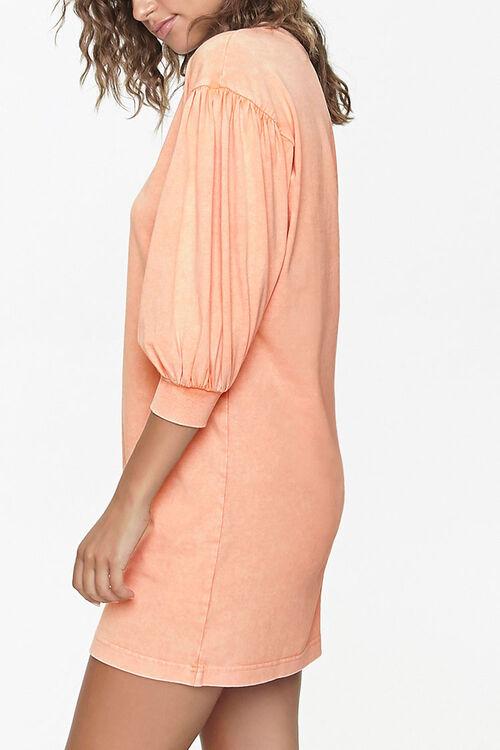 Peasant-Sleeve Mini Dress, image 2