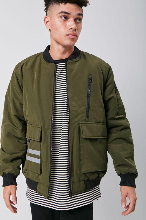 Flap-Pocket Bomber Jacket, image 1