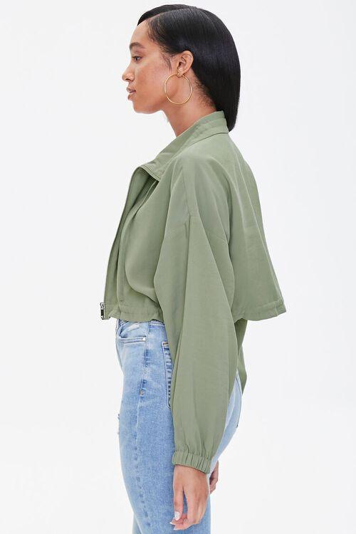 Zippered Drawstring Jacket, image 2