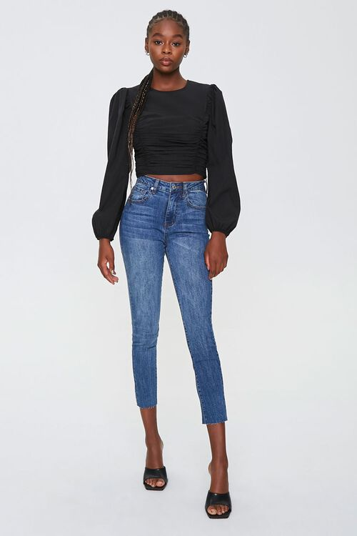Petite High-Rise Mom Jeans, image 4