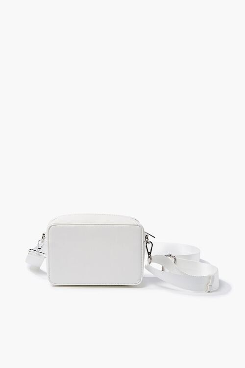 Faux Leather Structured Crossbody Bag, image 1