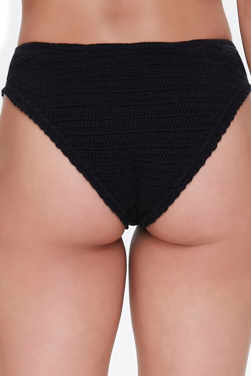 Low-Rise Crochet Bikini Bottoms, image 4