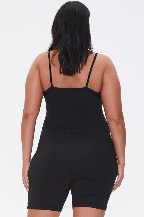 Plus Size Cami Romper, image 3