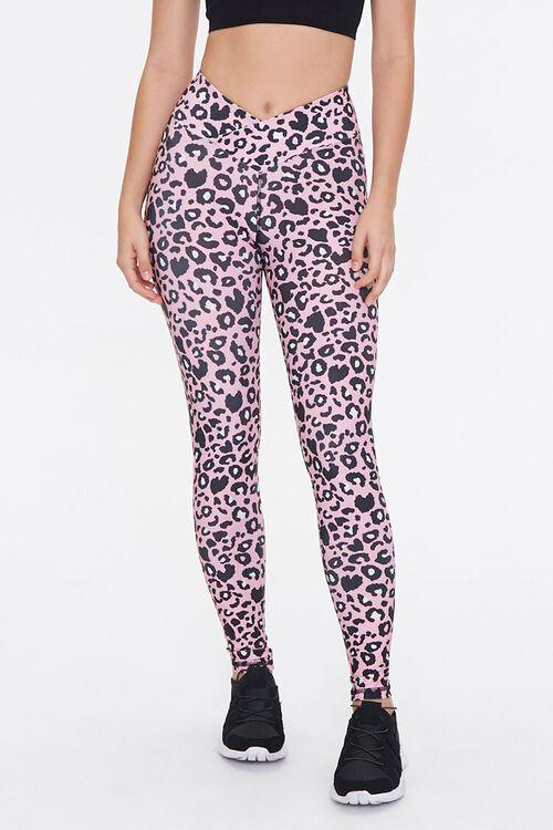 Active Leopard Print Leggings, image 2