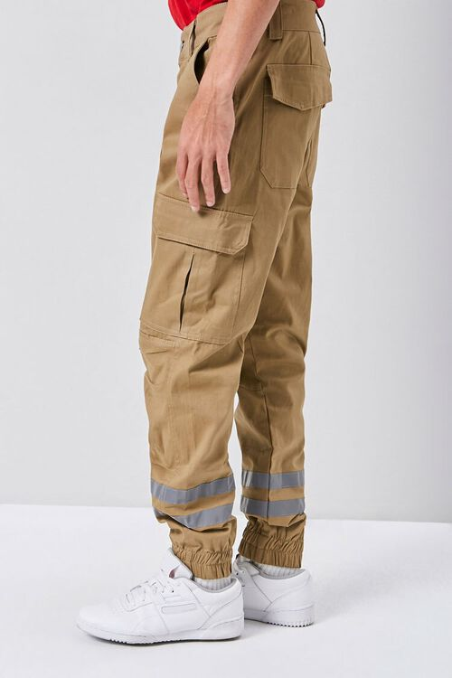 Reflective-Trim Cargo Joggers, image 2