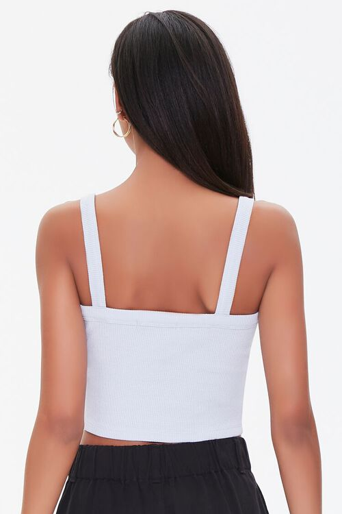 Straight-Neck Cropped Cami, image 3