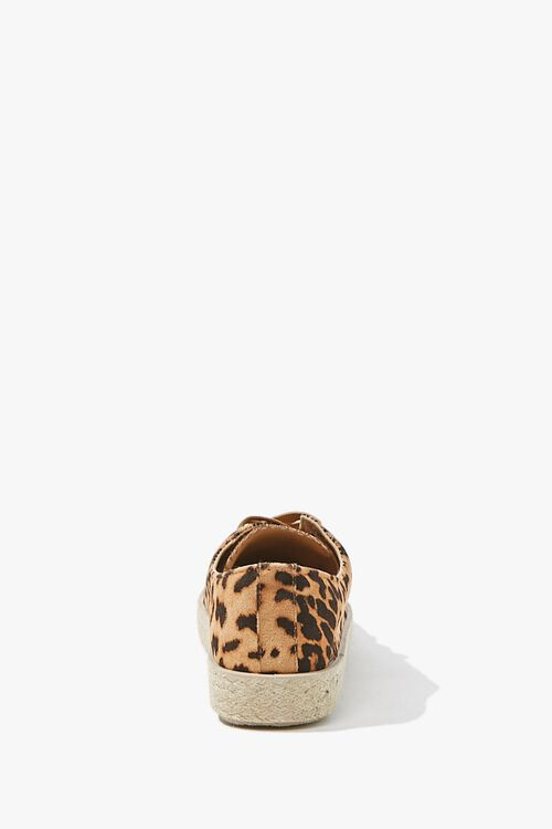 Leopard Low-Top Espadrille Sneakers, image 2