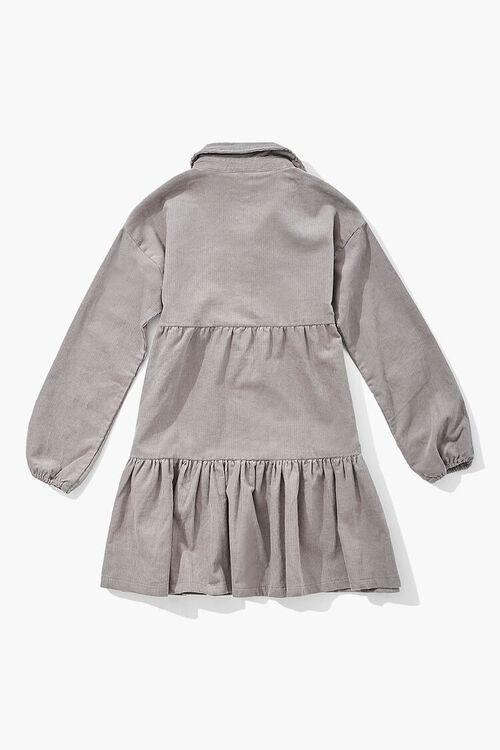 GREY Girls Flounce Shirt Dress (Kids), image 2