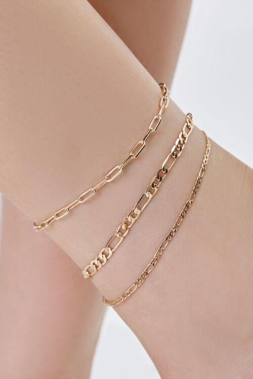 Figaro Chain Anklet Set, image 2