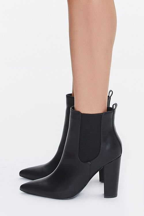 Pointed Toe Chelsea Boots, image 2