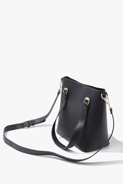 Faux Leather Tote Bag, image 2