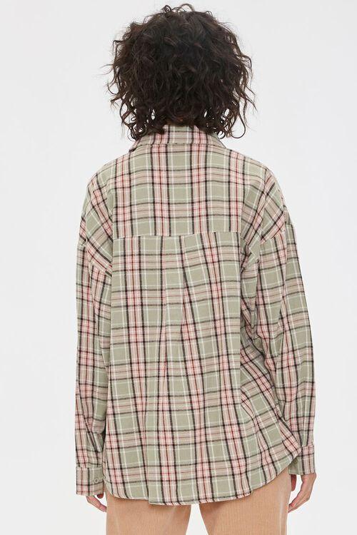 Plaid Chest-Pocket Shirt, image 3