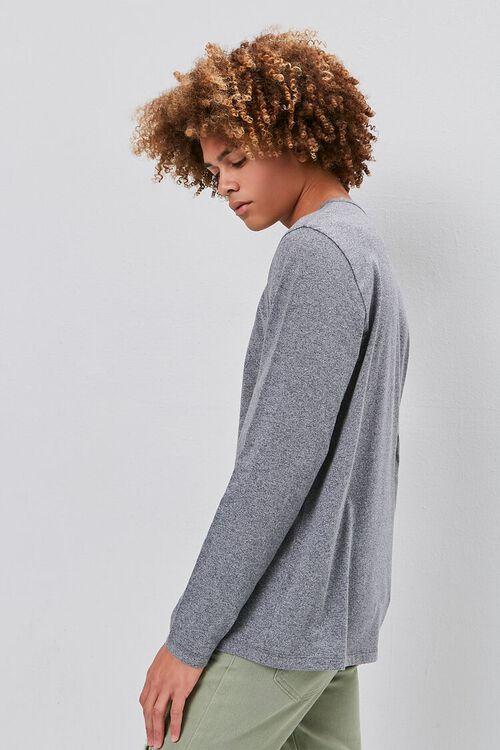 Long Sleeve Henley Tee, image 2