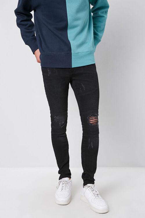 Plaid Slim-Fit Drawstring Pants, image 1