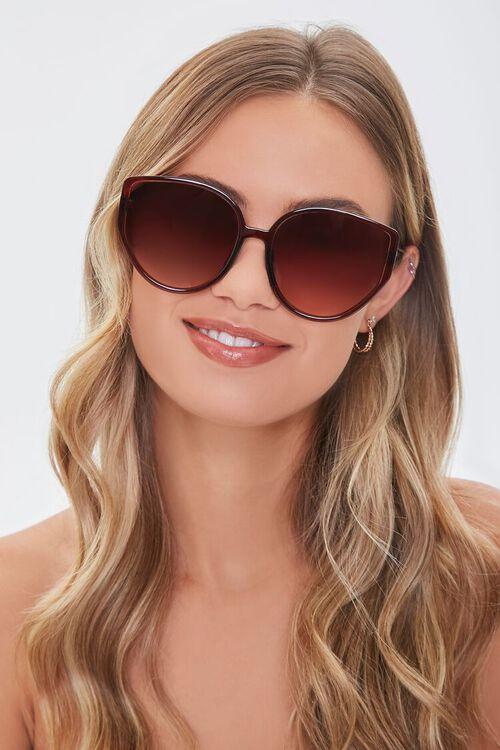 Cat-Eye Frame Sunglasses, image 1