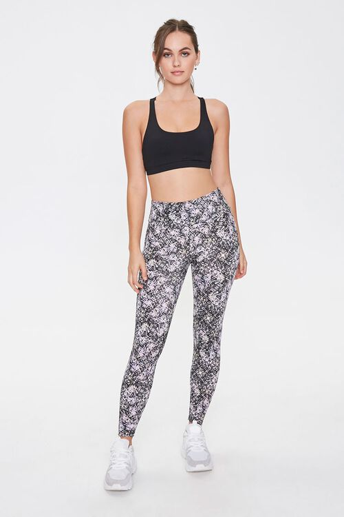 Active Abstract Print Leggings, image 2