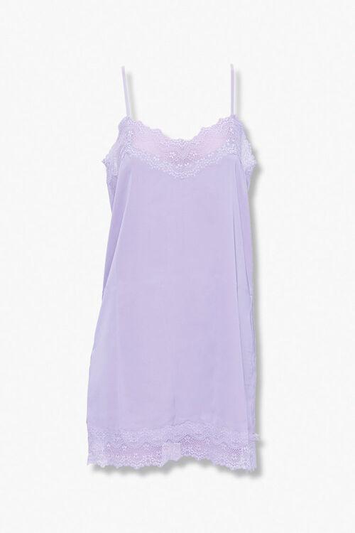 Lace-Trim Slip Nightdress, image 1