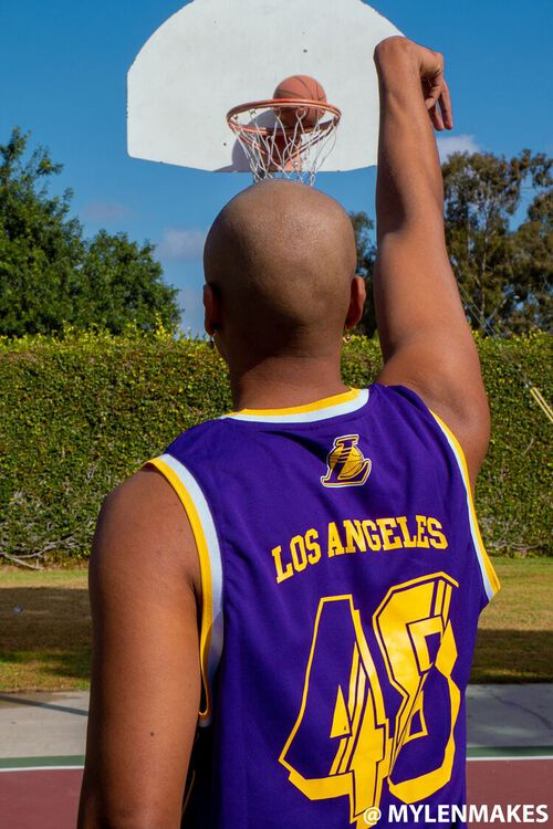 Lakers Graphic Tank Top, image 1