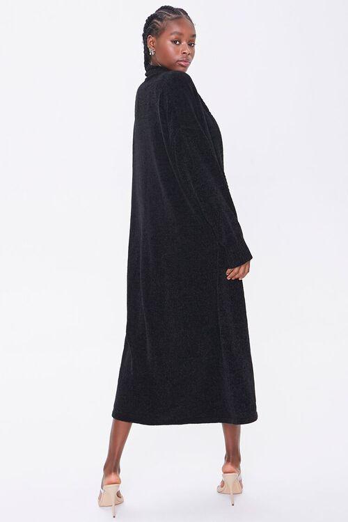 Chenille Longline Cardigan Sweater, image 3
