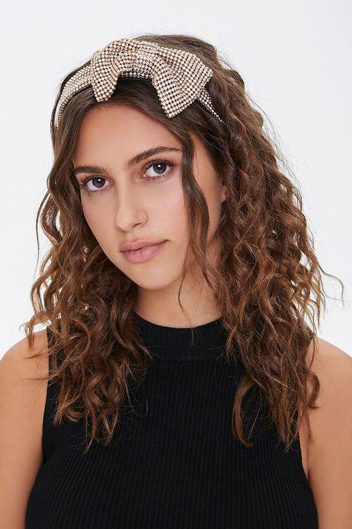 Rhinestone Bow Headband, image 1